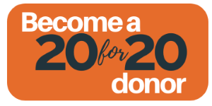 Become a 20for20 donor!