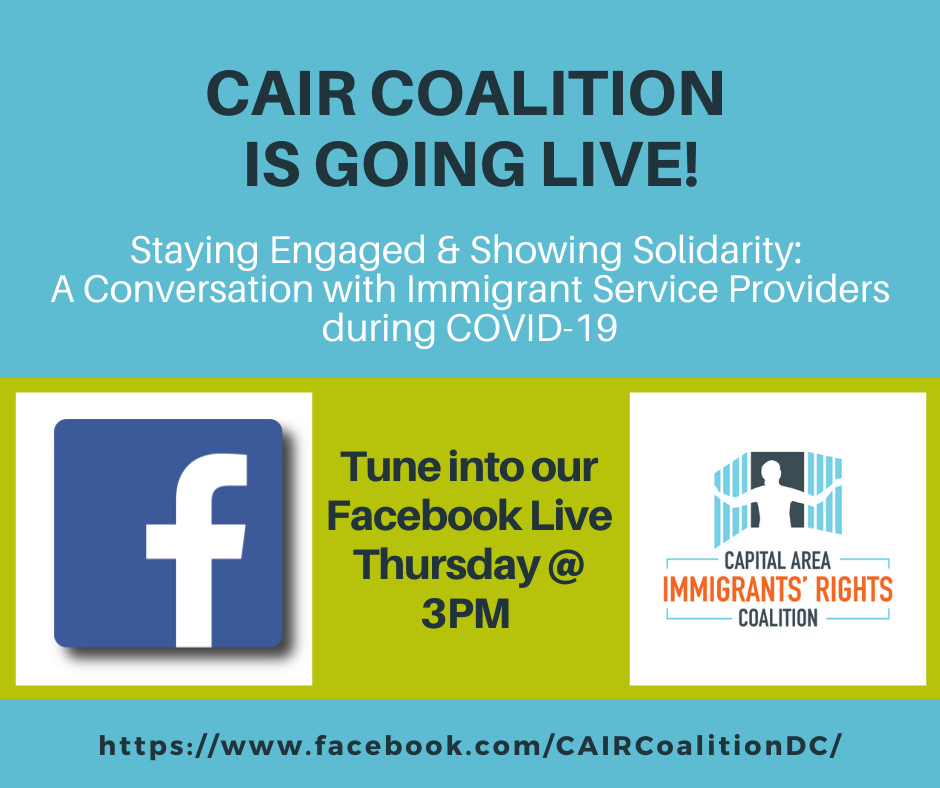 CAIR Coalition FB Live Series