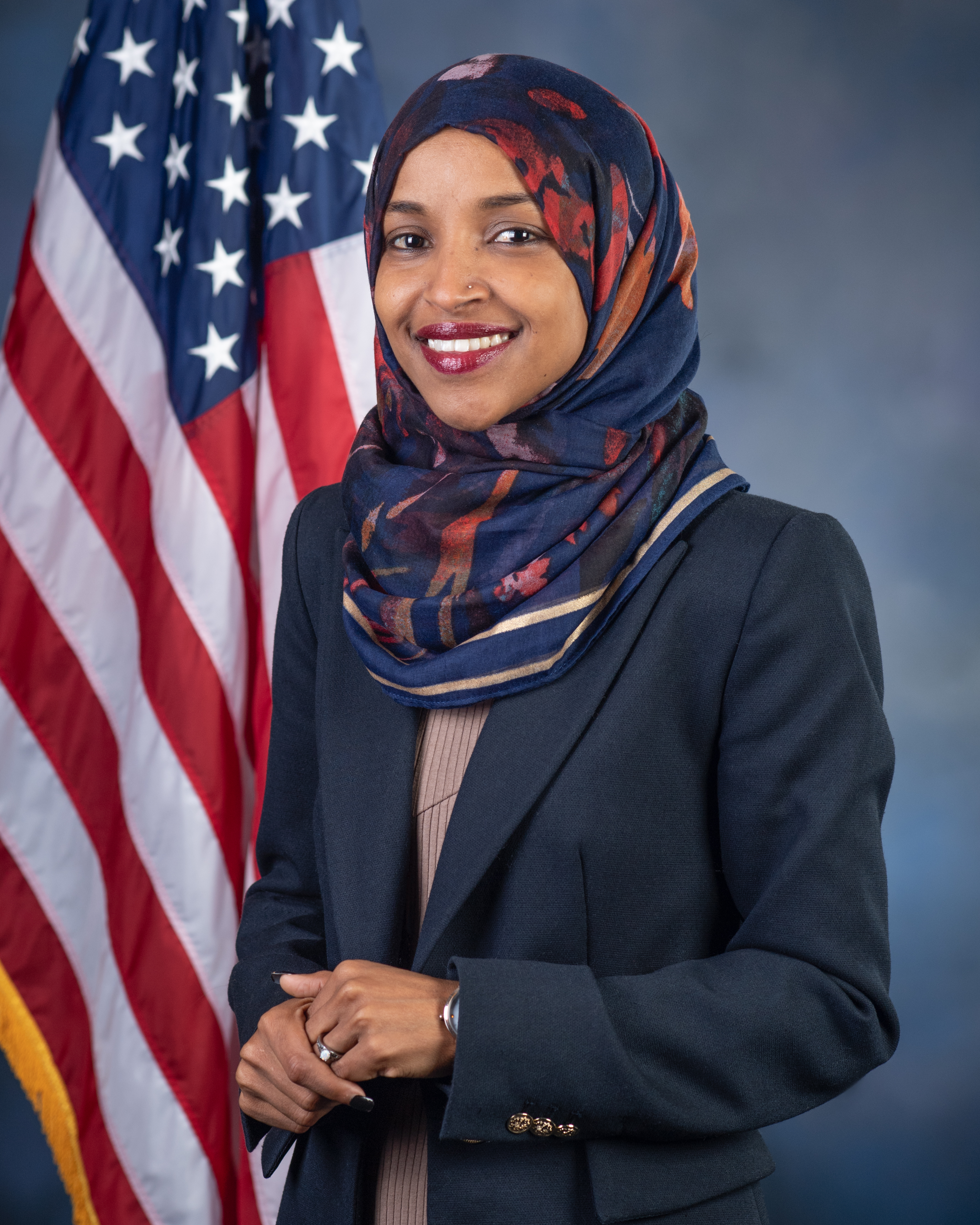 Photo of Rep. Ilhan Omar